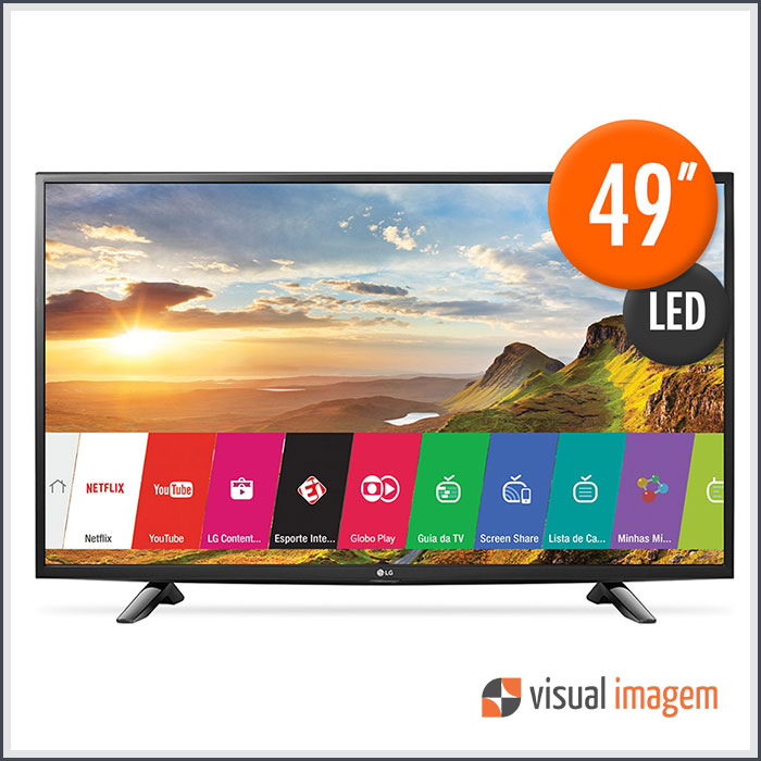 Aluguel de Smart TV LED 49 LG 49LH5700