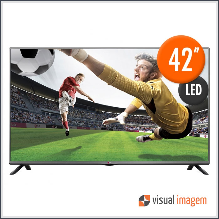 Aluguel de TV e Monitor LED 42 LG 42LB5500