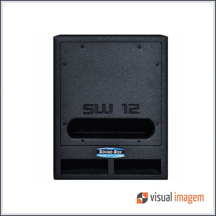 Aluguel de Subwoofer Sound Box